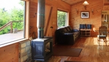Multi-room sitting area within one of the Talon Lodge accommodation areas